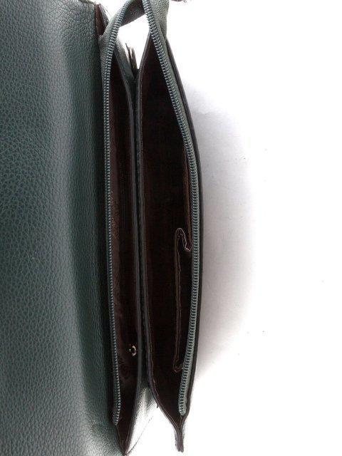 Зелёная сумка планшет Polina (Полина) - артикул: К0000021099 - ракурс 4