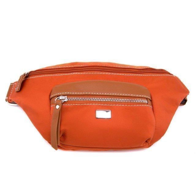 Рыжая сумка на пояс David Jones - 600.00 руб