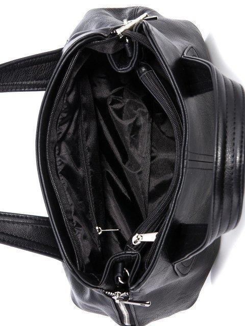 Чёрная сумка классическая S.Lavia (Славия) - артикул: 466 62 01 - ракурс 4