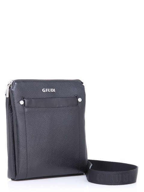 Чёрная сумка планшет Giudi (Джуди) - артикул: К0000030713 - ракурс 1