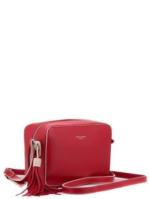 Красная сумка планшет David Jones - 1473.00 руб