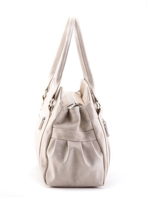 Бежевая сумка классическая S.Lavia (Славия) - артикул: 066 512 20 - ракурс 2