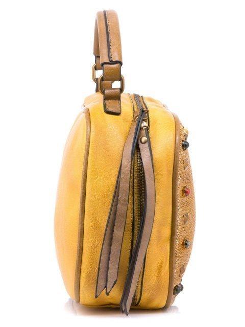 Жёлтый кросс-боди Domenica (Domenica) - артикул: 0К-00002083 - ракурс 2