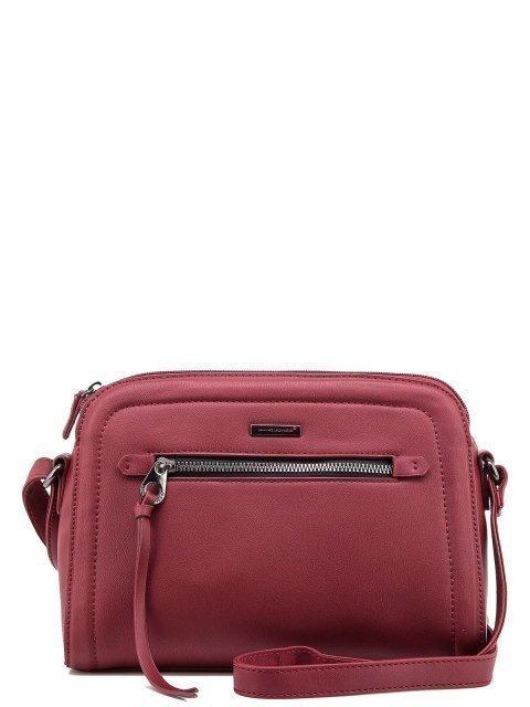 Бордовая сумка планшет David Jones - 1100.00 руб