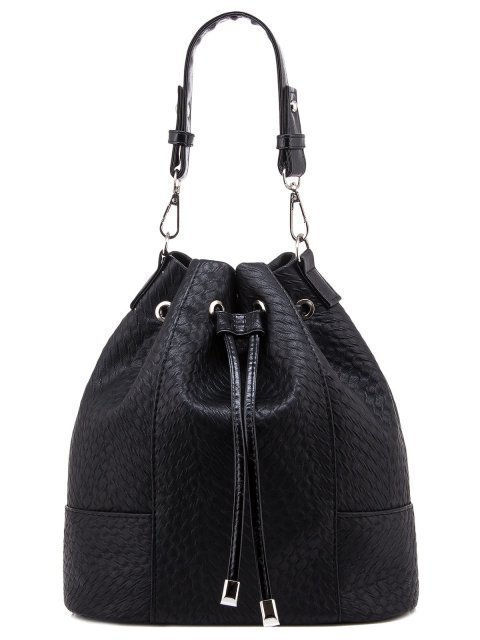 Чёрная сумка мешок S.Lavia - 1679.00 руб