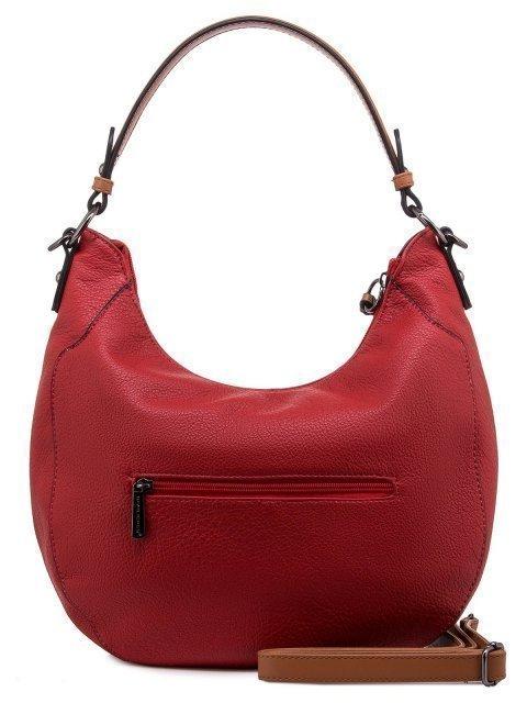 Красная сумка мешок David Jones (Дэвид Джонс) - артикул: 0К-00011852 - ракурс 3