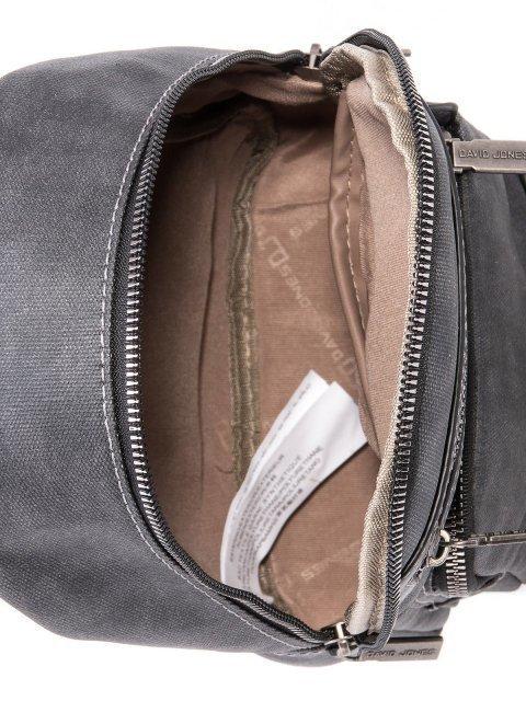 Серый рюкзак David Jones (Дэвид Джонс) - артикул: 0К-00002256 - ракурс 4