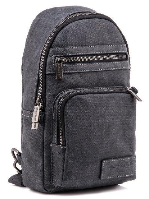 Серый рюкзак David Jones (Дэвид Джонс) - артикул: 0К-00002256 - ракурс 1
