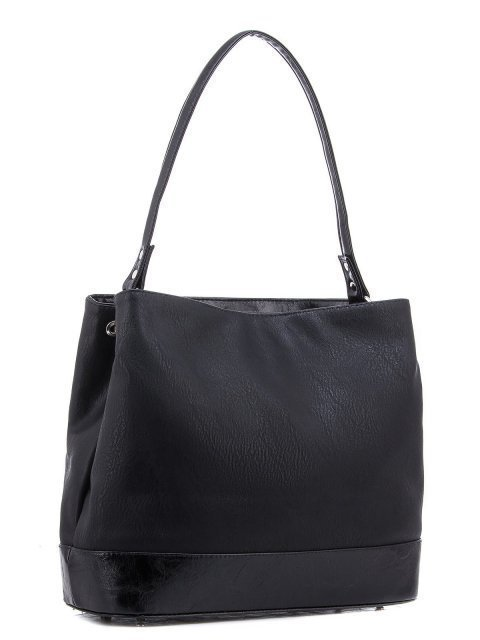 Чёрная сумка мешок S.Lavia (Славия) - артикул: 979 029 01 - ракурс 1