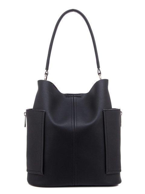 Чёрная сумка мешок S.Lavia - 1567.00 руб