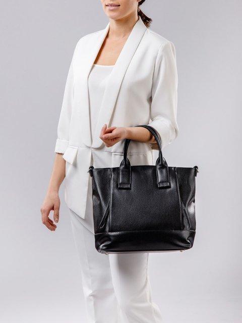 Чёрная сумка классическая S.Lavia (Славия) - артикул: 1074 902 01 - ракурс 1