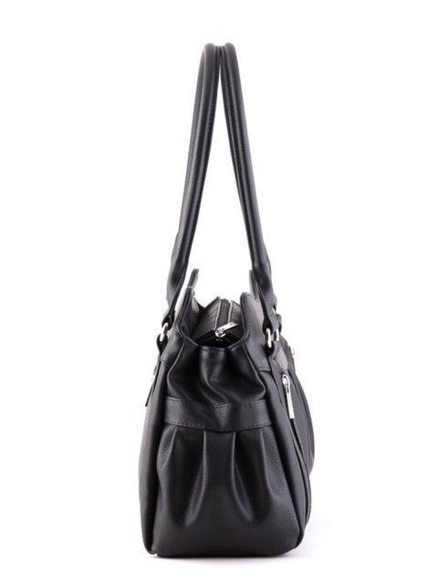 Чёрная сумка классическая S.Lavia (Славия) - артикул: 366 97 01 - ракурс 2
