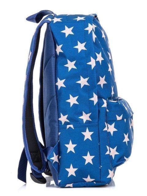 Синий рюкзак Lbags (Эльбэгс) - артикул: К0000031250 - ракурс 2