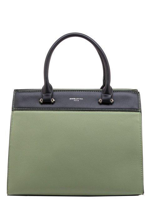 Зелёная сумка классическая David Jones - 2015.00 руб