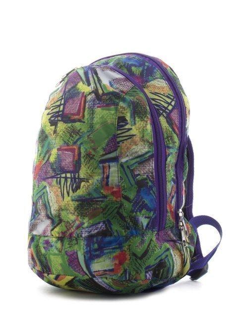 Зелёный рюкзак Lbags (Эльбэгс) - артикул: К0000018615 - ракурс 4
