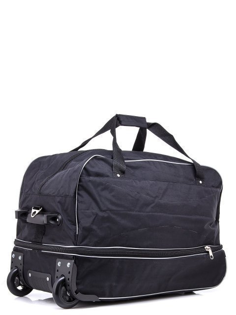 Чёрный чемодан Lbags (Эльбэгс) - артикул: К0000018584 - ракурс 1