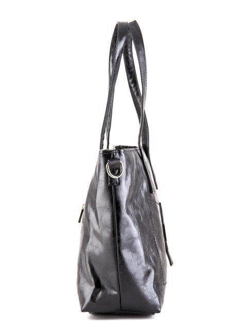 Чёрная сумка классическая S.Lavia (Славия) - артикул: 448 048 01 - ракурс 3
