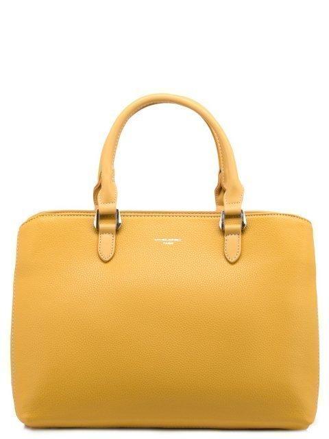 Жёлтая сумка классическая David Jones - 1099.00 руб