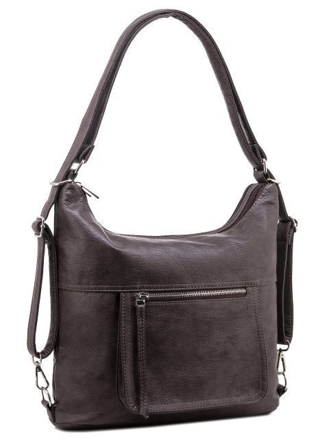 Коричневая сумка мешок S.Lavia (Славия) - артикул: 657 601 12 - ракурс 1