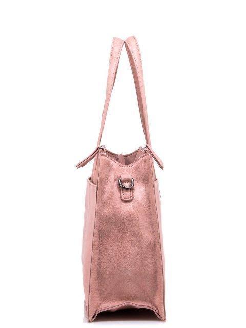 Розовый шоппер Domenica (Domenica) - артикул: 0К-00002064 - ракурс 2