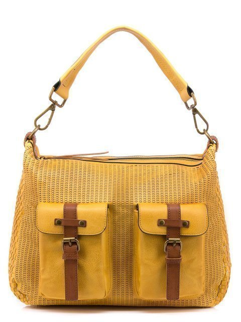 Жёлтая сумка мешок Domenica - 1600.00 руб