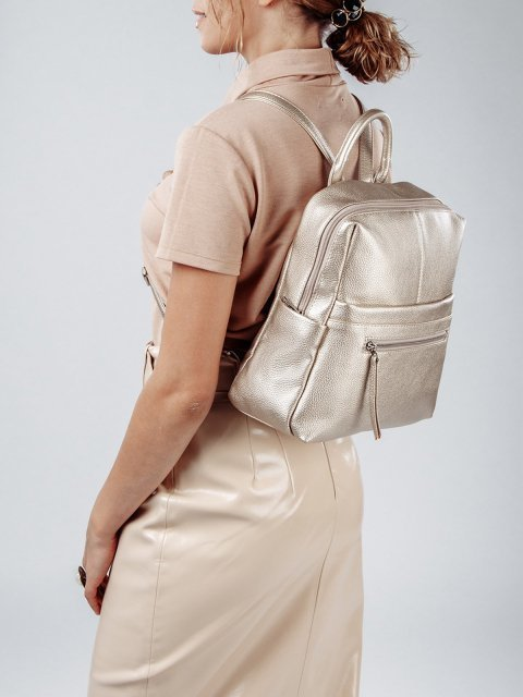 Золотой рюкзак S.Lavia (Славия) - артикул: 1072 902 56 - ракурс 1