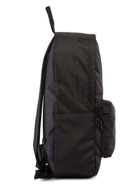 Чёрный рюкзак Lbags (Эльбэгс) - артикул: 0К-00029121 - ракурс 2