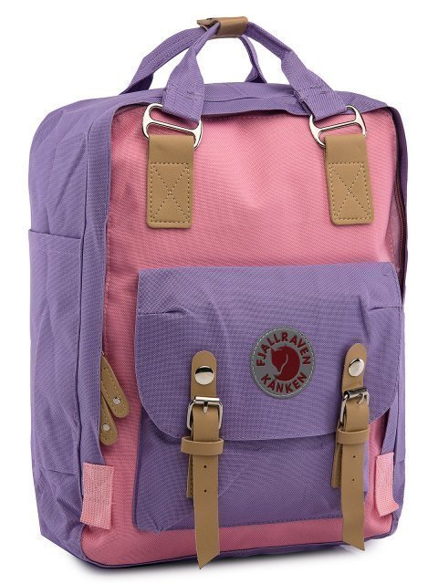 Розовый рюкзак Kanken (Kanken) - артикул: 0К-00029028 - ракурс 1