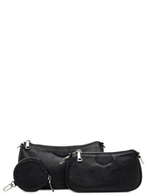Чёрная сумка планшет Polina - 3997.00 руб