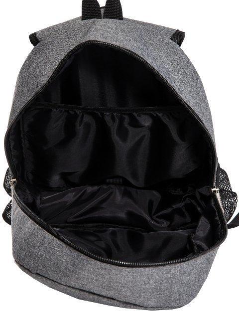Серый рюкзак Lbags (Эльбэгс) - артикул: 0К-00029123 - ракурс 4