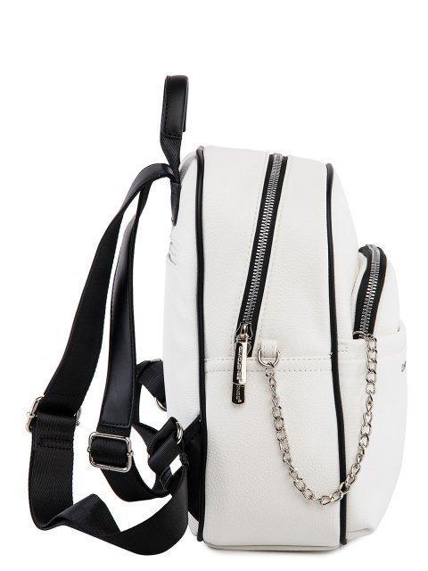 Белый рюкзак David Jones (Дэвид Джонс) - артикул: 0К-00026060 - ракурс 2