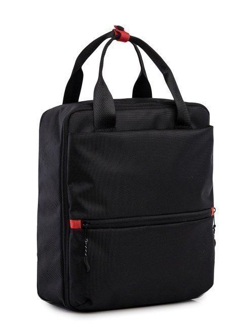 Чёрный рюкзак S.Lavia (Славия) - артикул: 00-100 000 01 - ракурс 1