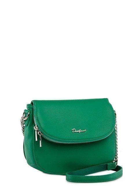 Зелёная сумка планшет David Jones (Дэвид Джонс) - артикул: 0К-00026114 - ракурс 1