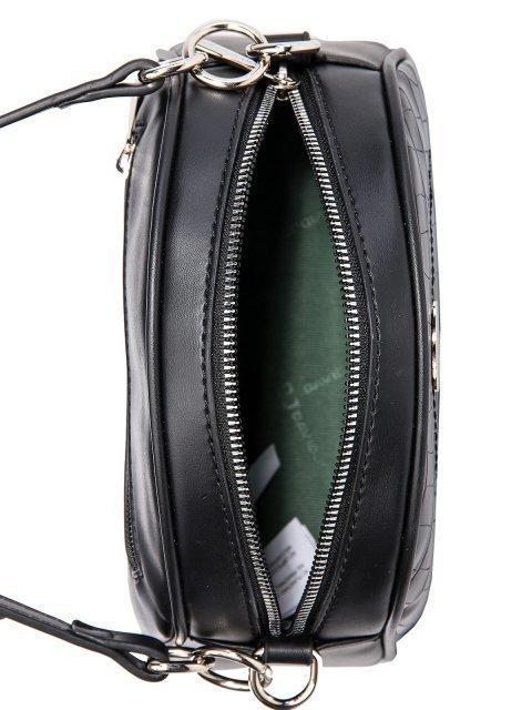Чёрная сумка планшет David Jones (Дэвид Джонс) - артикул: 0К-00026290 - ракурс 4