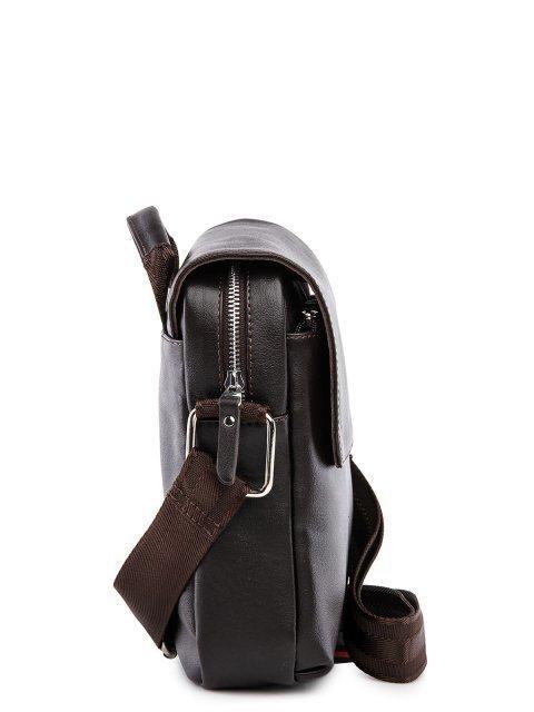 Коричневая сумка планшет S.Lavia (Славия) - артикул: 0053 10 12 - ракурс 2