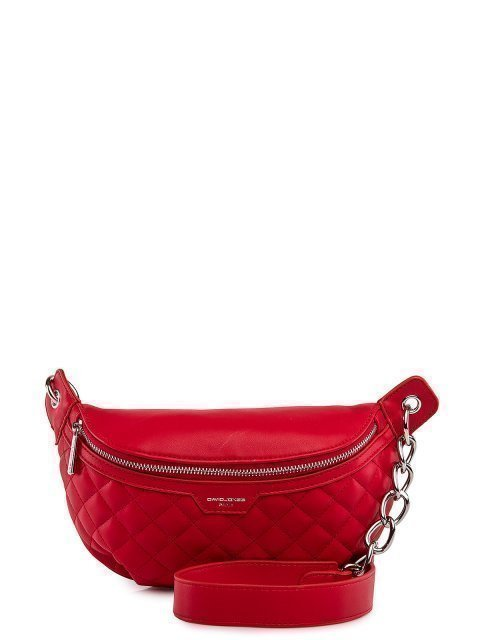 Красная сумка на пояс David Jones - 1899.00 руб