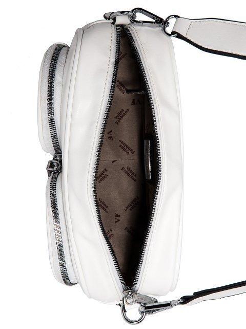 Белая сумка планшет Fabbiano (Фаббиано) - артикул: 0К-00023509 - ракурс 4