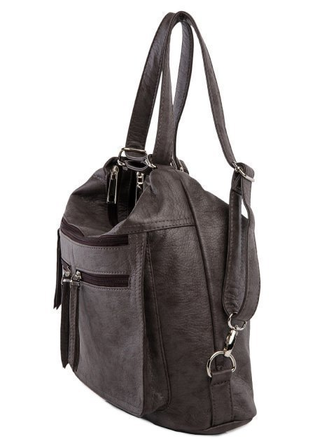 Коричневая сумка мешок S.Lavia (Славия) - артикул: 962 601 12 - ракурс 4