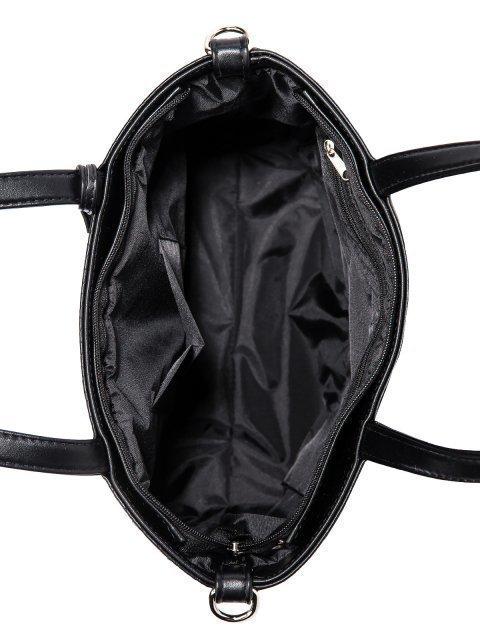 Чёрная сумка классическая S.Lavia (Славия) - артикул: 1242 932 01  - ракурс 4