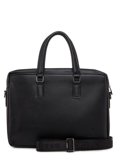 Чёрная сумка классическая Bradford (Брэдфорд) - артикул: 0К-00016704 - ракурс 3