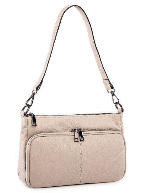 Бежевая сумка планшет Polina (Полина) - артикул: 0К-00027770 - ракурс 1