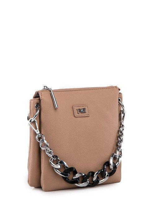Бежевая сумка планшет Polina (Полина) - артикул: 0К-00027761 - ракурс 1