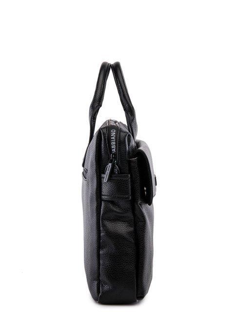Чёрная сумка классическая Fabbiano (Фаббиано) - артикул: 0К-00023742 - ракурс 2