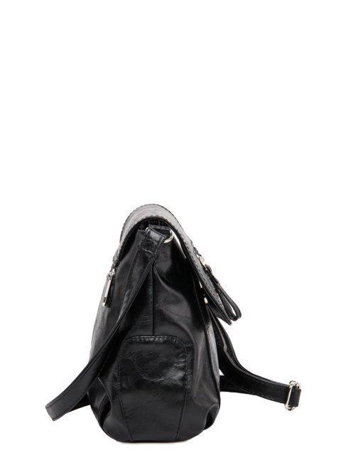 Чёрная сумка планшет S.Lavia (Славия) - артикул: 750 048 01 - ракурс 2