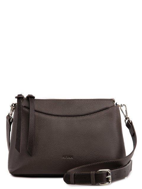 Коричневая сумка планшет Afina - 7599.00 руб