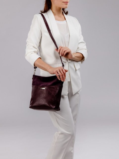 Бордовая сумка планшет S.Lavia (Славия) - артикул: 1071 99 07 - ракурс 6