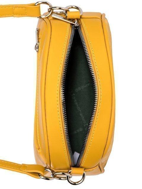 Жёлтая сумка планшет David Jones (Дэвид Джонс) - артикул: 0К-00026291 - ракурс 4