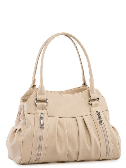 Бежевая сумка классическая S.Lavia (Славия) - артикул: 066 512 20 - ракурс 1