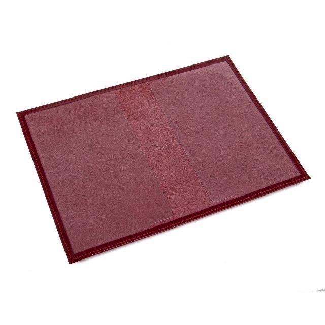 Красная обложка для документов S.Lavia (Славия) - артикул: К0000016373 - ракурс 1