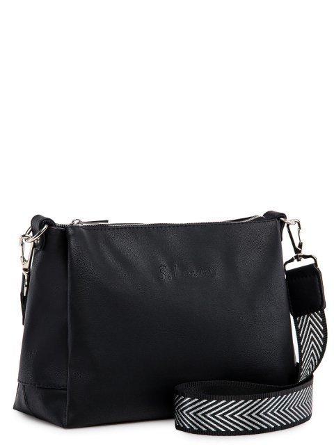 Чёрная сумка планшет S.Lavia (Славия) - артикул: 1175 910 01 - ракурс 1